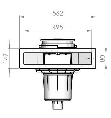 ASTRAL Skimmer SLIM 500 KS