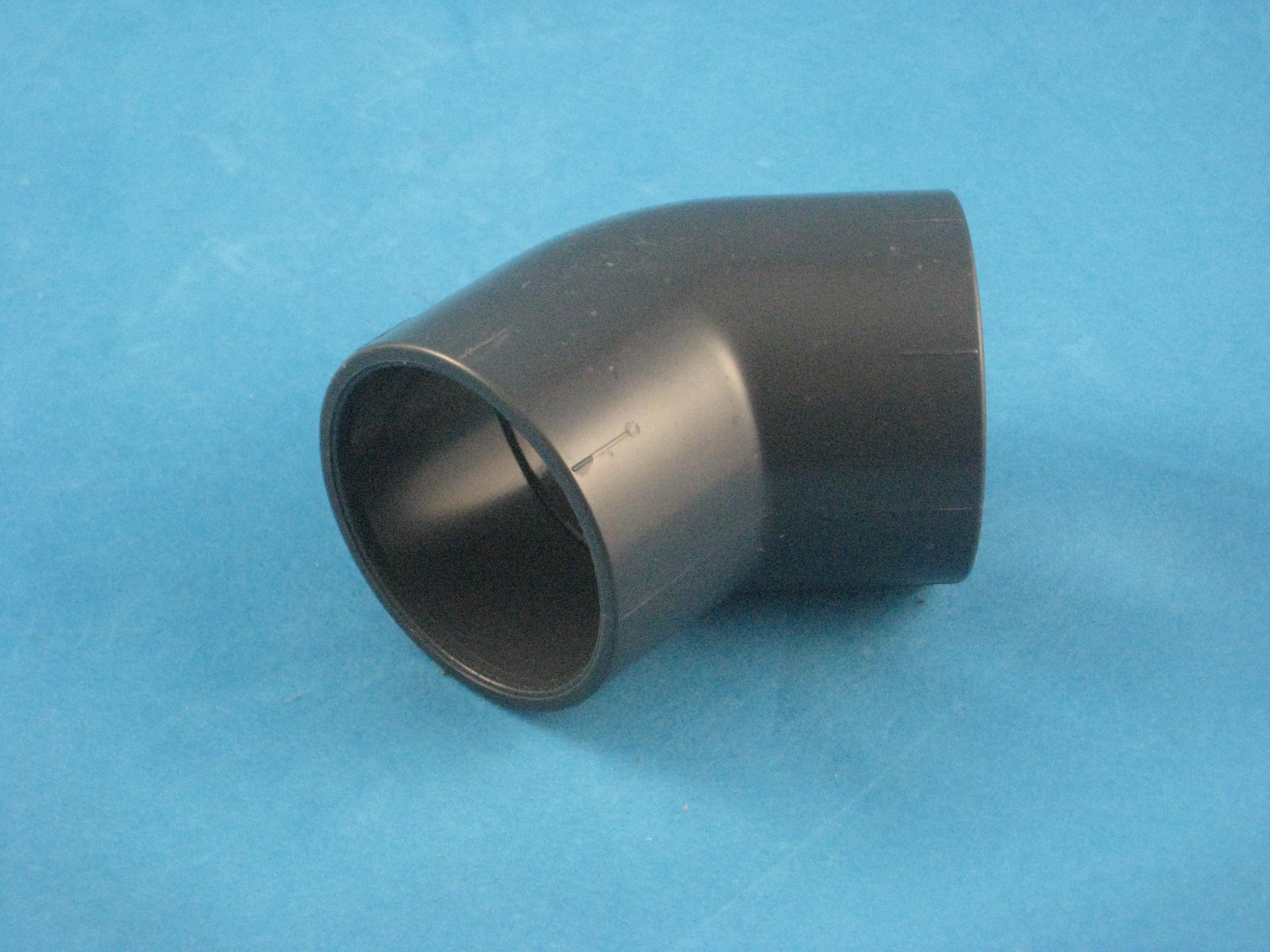 PVC Winkel 45° D63
