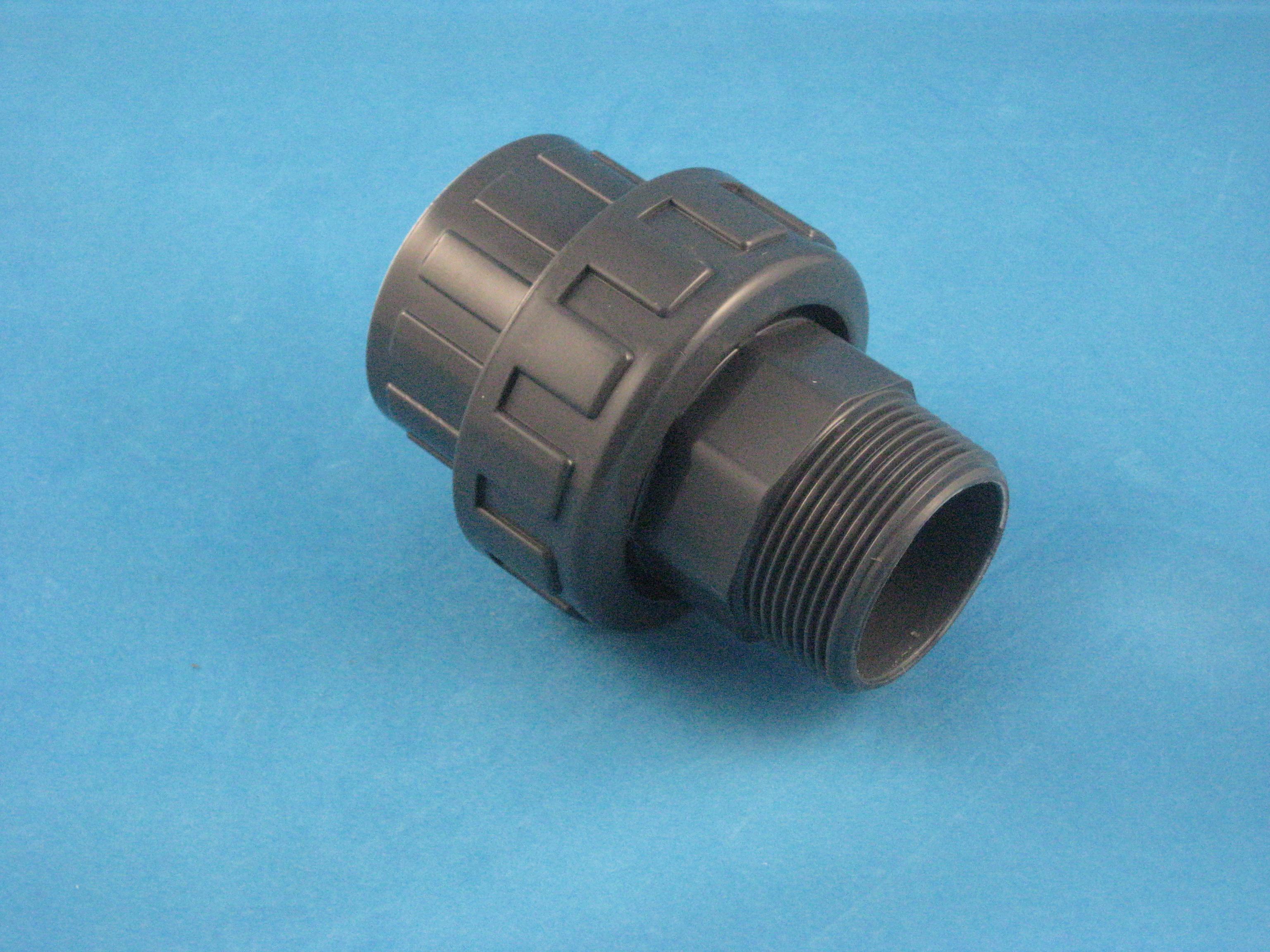 PVC Verschraubung D63 - 2'' AG
