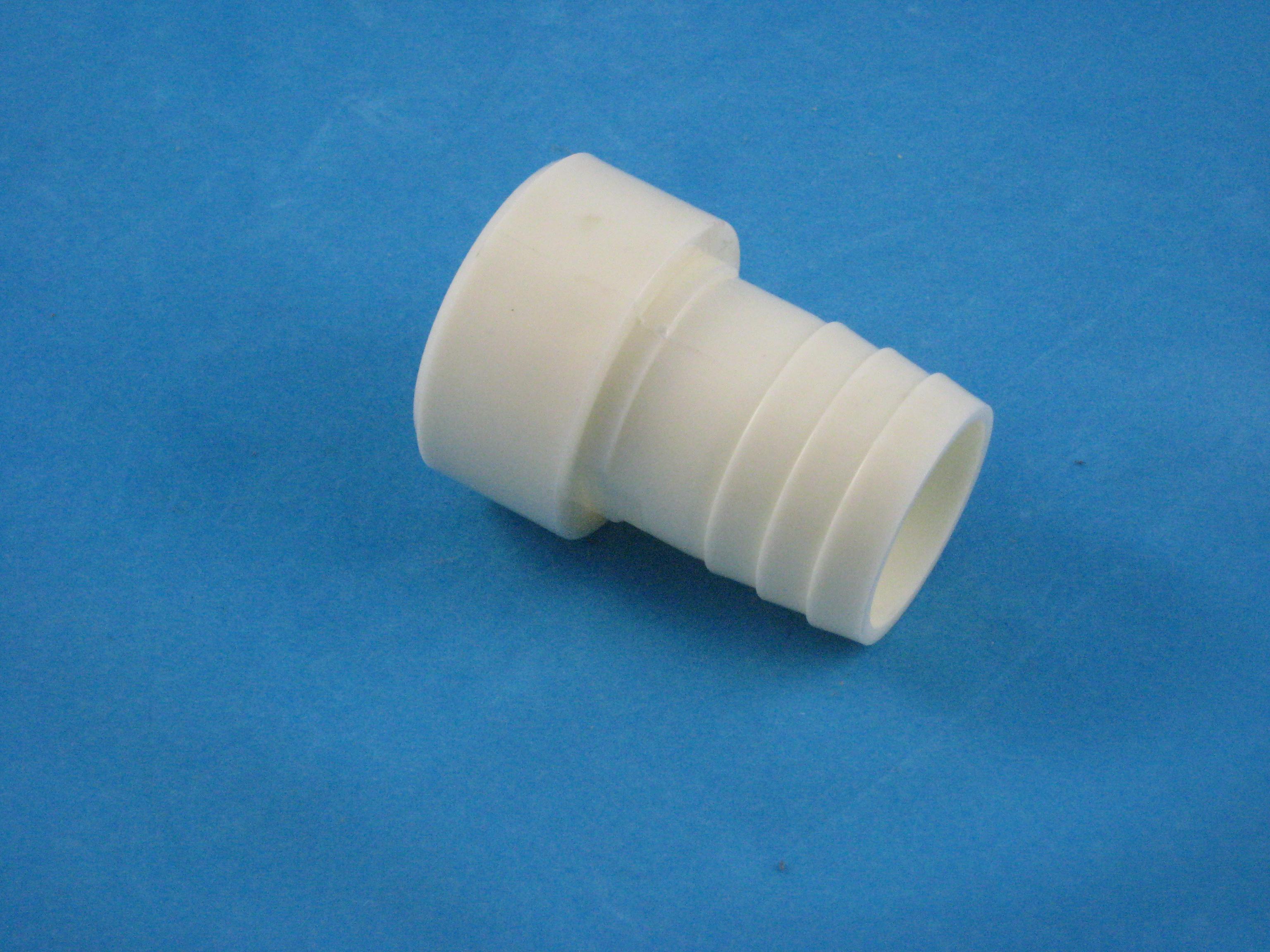 PVC Schlauchübergang DA50 Klebe - 38 mm