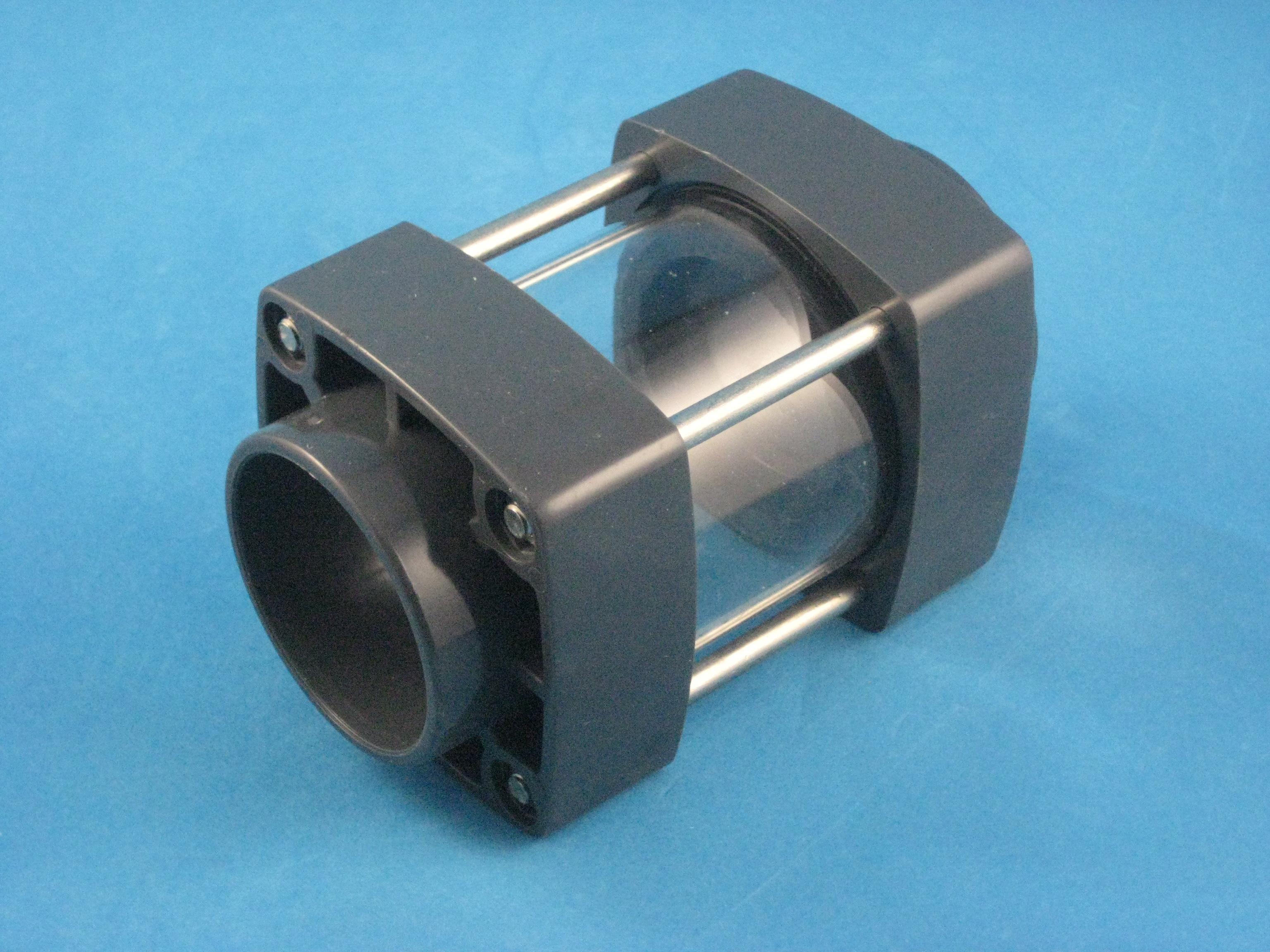 PVC Sichtglas D63
