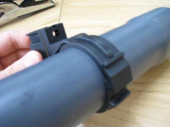 PVC Rohrklemmen DA50