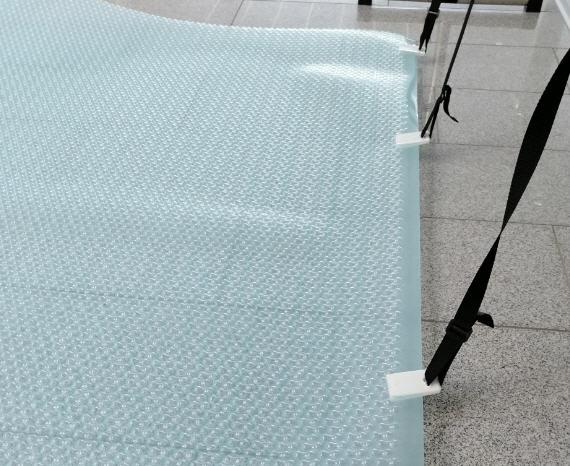 Solarmatte Bänderset - 8 Gurte mit Klipse