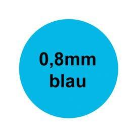 RUND - Blau 0,8mm